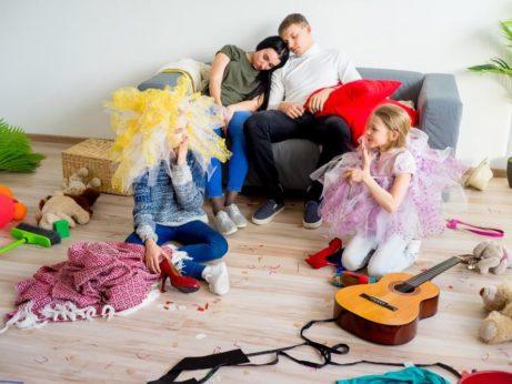 výchova dětí - jak na nepořádek