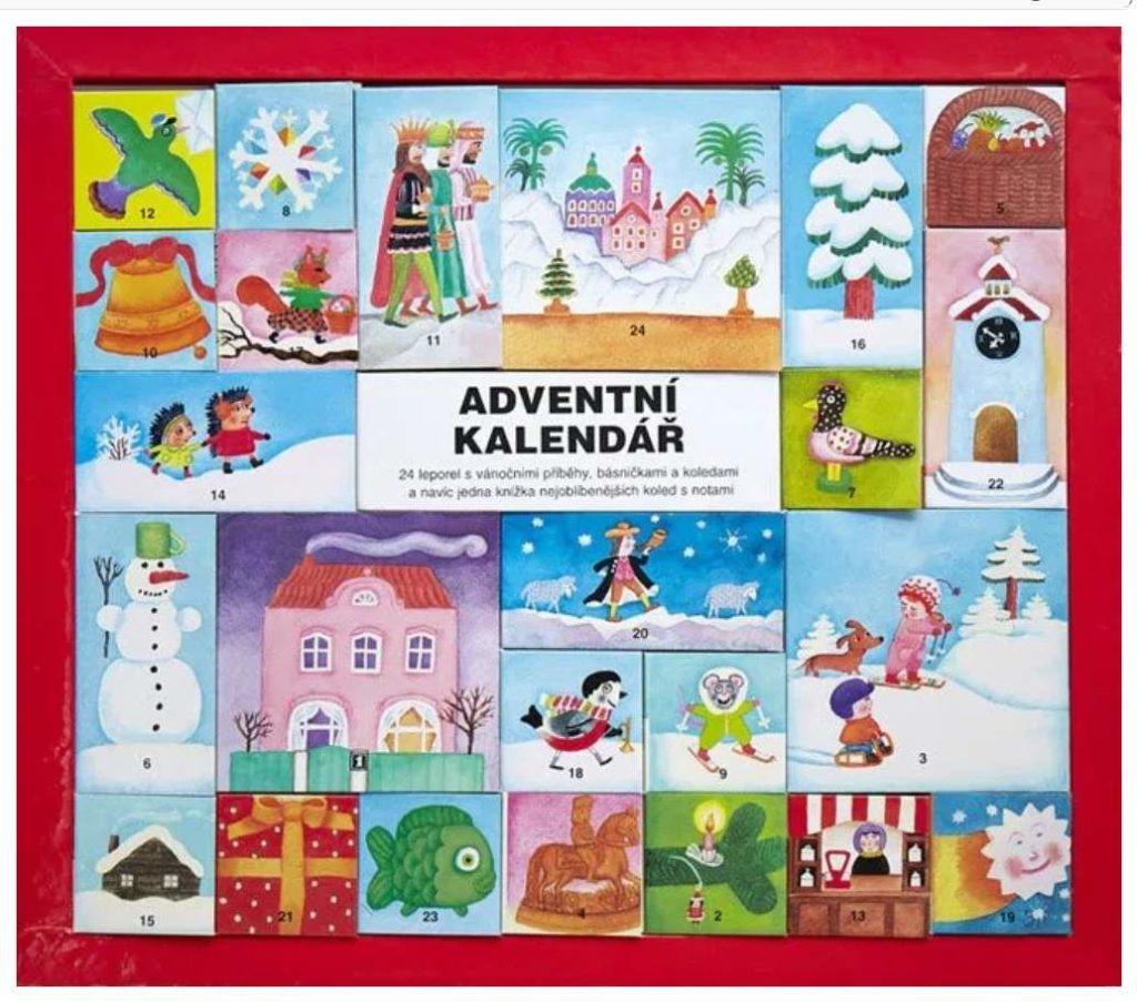 adventní kalendář sleporely